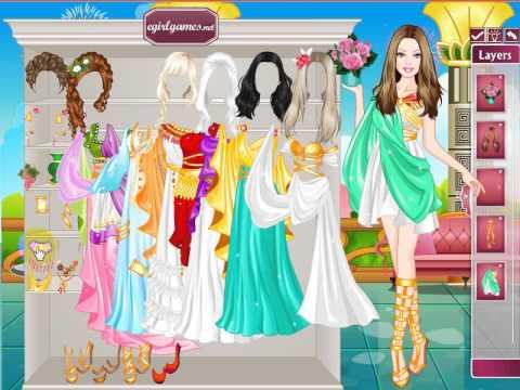 Dress Up Games Celebrities Barbie Roman Barbie Princess