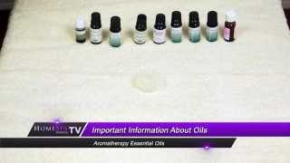 Aromatherapy Essential Oils - Introduction Thumbnail