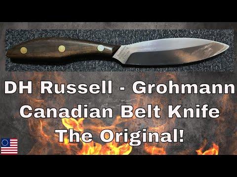 Grohmann Candian Belt Knife