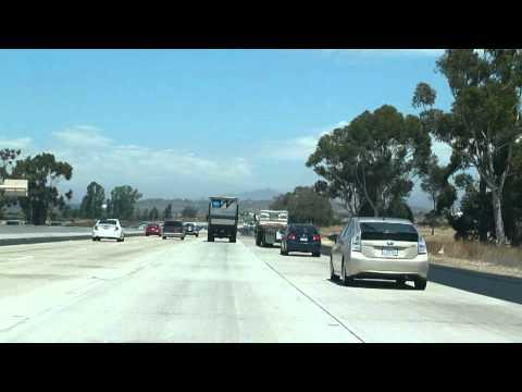 CA-163 onto I-15 past Miramar