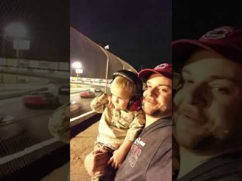 Wesley's 1st NASCAR late model race at Greenville Pickens Speedway
