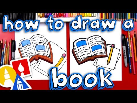 How To Draw Book And Pencil