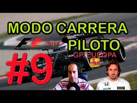 F1 2016 | CARRERA PROFESIONAL CON MAXON #9 | GP. EUROPA | PS4 | 1080p60 | Español