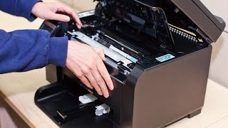Hp Laserjet 100 Color `MFP M175nw Replace Chip Drum