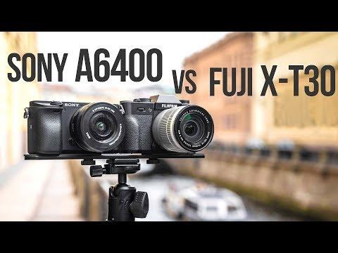Sony A6400 против Fujifilm X-T30. Тест-сравнение