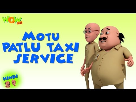 Motu Patlu Taxi Service - Motu Patlu in Hindi - 3D Animation Cartoon for Kids - As on Nickelodeon thumbnail