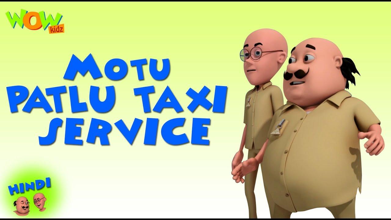 Motu Patlu Taxi Service Motu Patlu In Hindi 3d Animation Cartoon