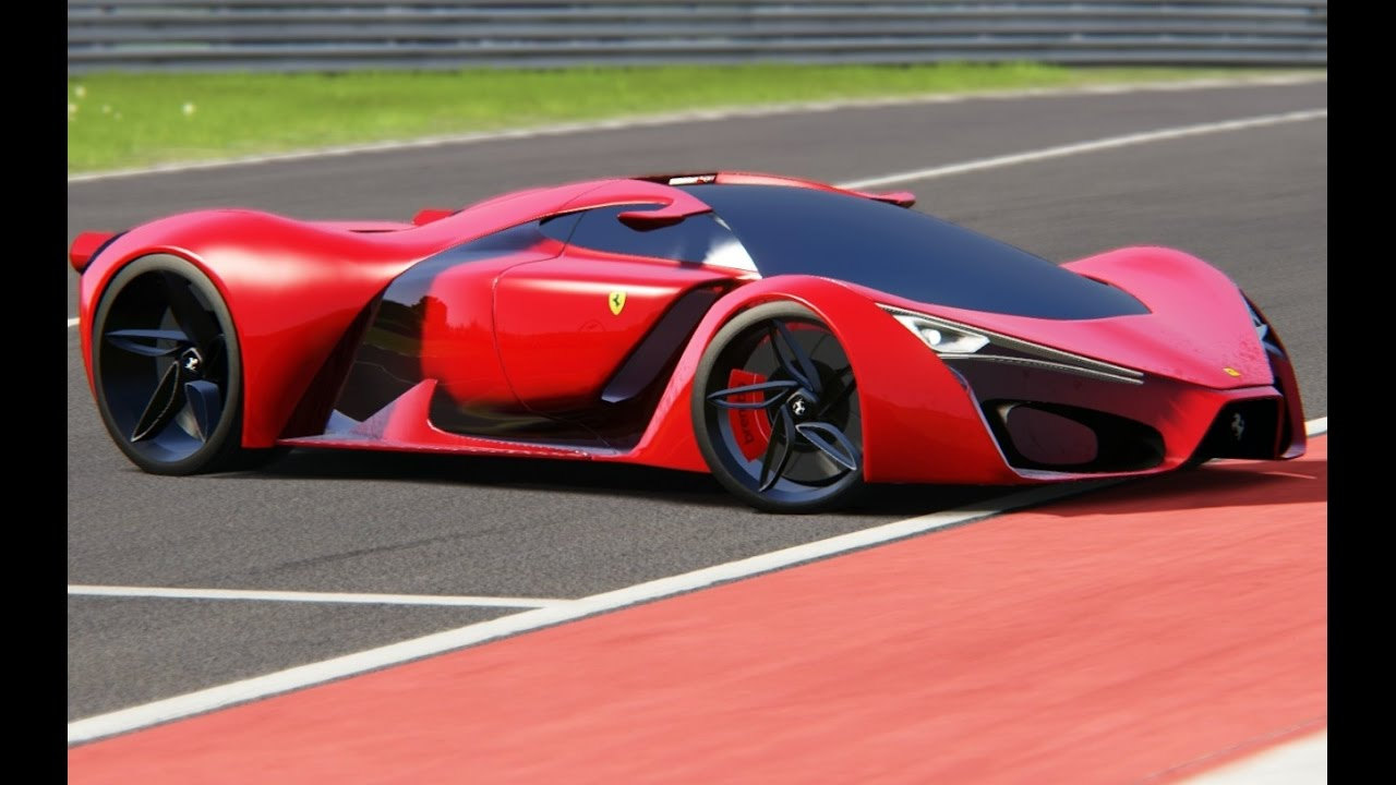 Ferrari F80 Concept Top Gear at Red Bull Ring
