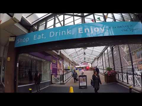 birmingham city centre walkabout