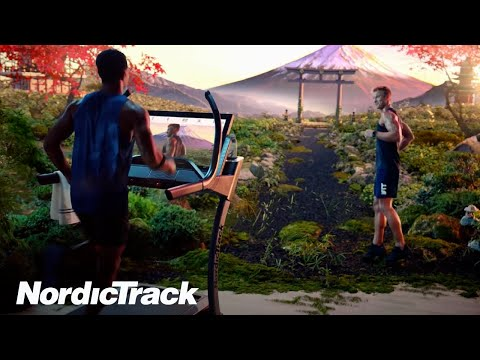 The World Connected - Commercial X32i Incline Treadmill by NordicTrack