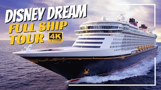 Disney Dream   Full Ship Tour & Review 2019   4K   All Public Spaces Explained