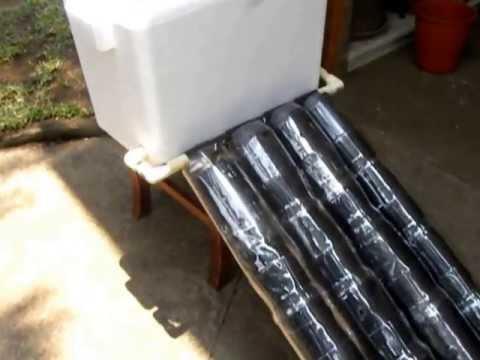 Calentador solar casero doovi for Calentador solar piscina casero