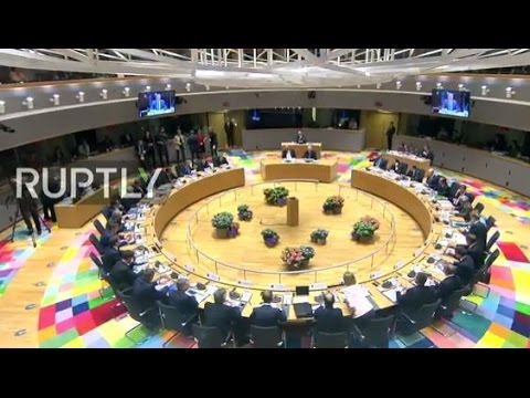 LIVE: EU Special European Council on Article 50: arrivals and doorstep