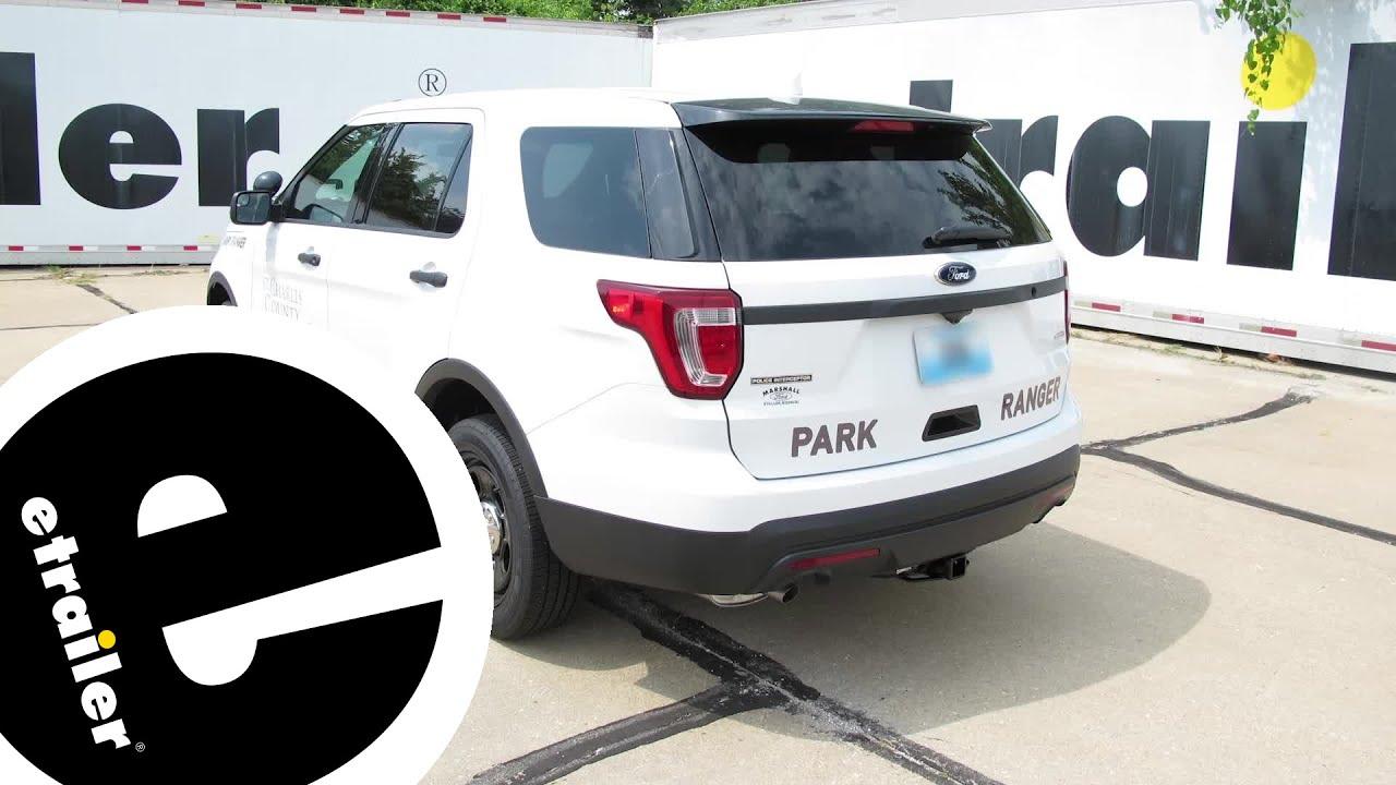 trailer hitch installation 2016 ford explorer draw tite etrailer com Ford Explorer Heated Seats