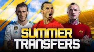 SUMMER TRANSFERS! w/ ATLETICO MADRID CONSIDER IBRAHIMOVIC MOVE! - FIFA 18 ULTIMATE TEAM