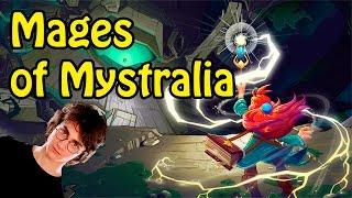 Обзор Mages of Mystralia | Гарри Поттер по-французски | Первый взгляд
