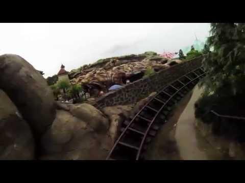 SEVEN DWARFS MINE TRAIN! Front Seat Pov - Full Ride - MAGIC KINGDOM, Walt Disney World