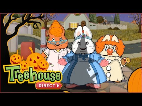 Max & Ruby 🎃 Halloween Special: Candy And Costumes!