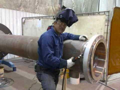 Pinoy Welder N Pipe Fitter In Kwinana, Wa. Australia - Youtube