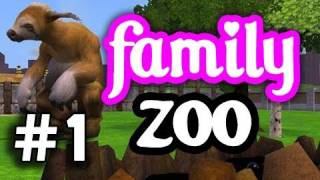 Zoo Tycoon - The Family Zoo! Episode 1 - Getchyo' Food+Drank