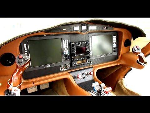 Velocity V-Twin Luxury Cockpit & Interior (N91VT)