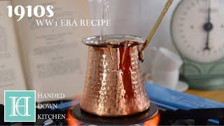 Turkish Coffee ◆ 1910s / WW1 Era Recipe