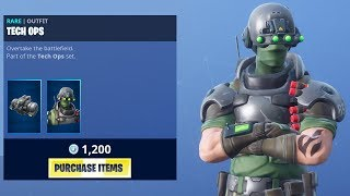 *NEW* TECH OPS SKIN! (Fortnite Item Shop 24th January)