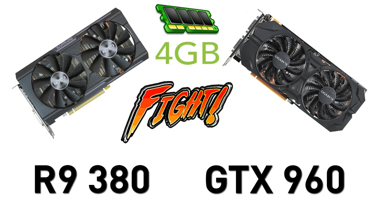 FPS Battle - R9 380 4GB vs GTX 960 4GB