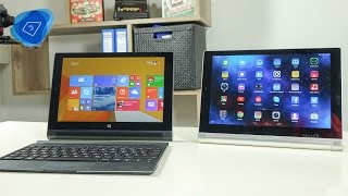 Vergleich: Lenovo Yoga Tablet 2 10 - Windows vs. Android