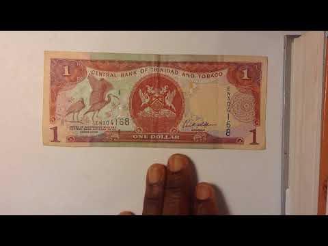 Central Bank Of  Trinidad And Tobago One  Dollar