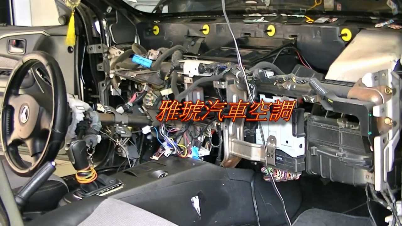 Evaporator core cleaning Mitsubishi Gobal Lancer蒸發器拆裝(HD
