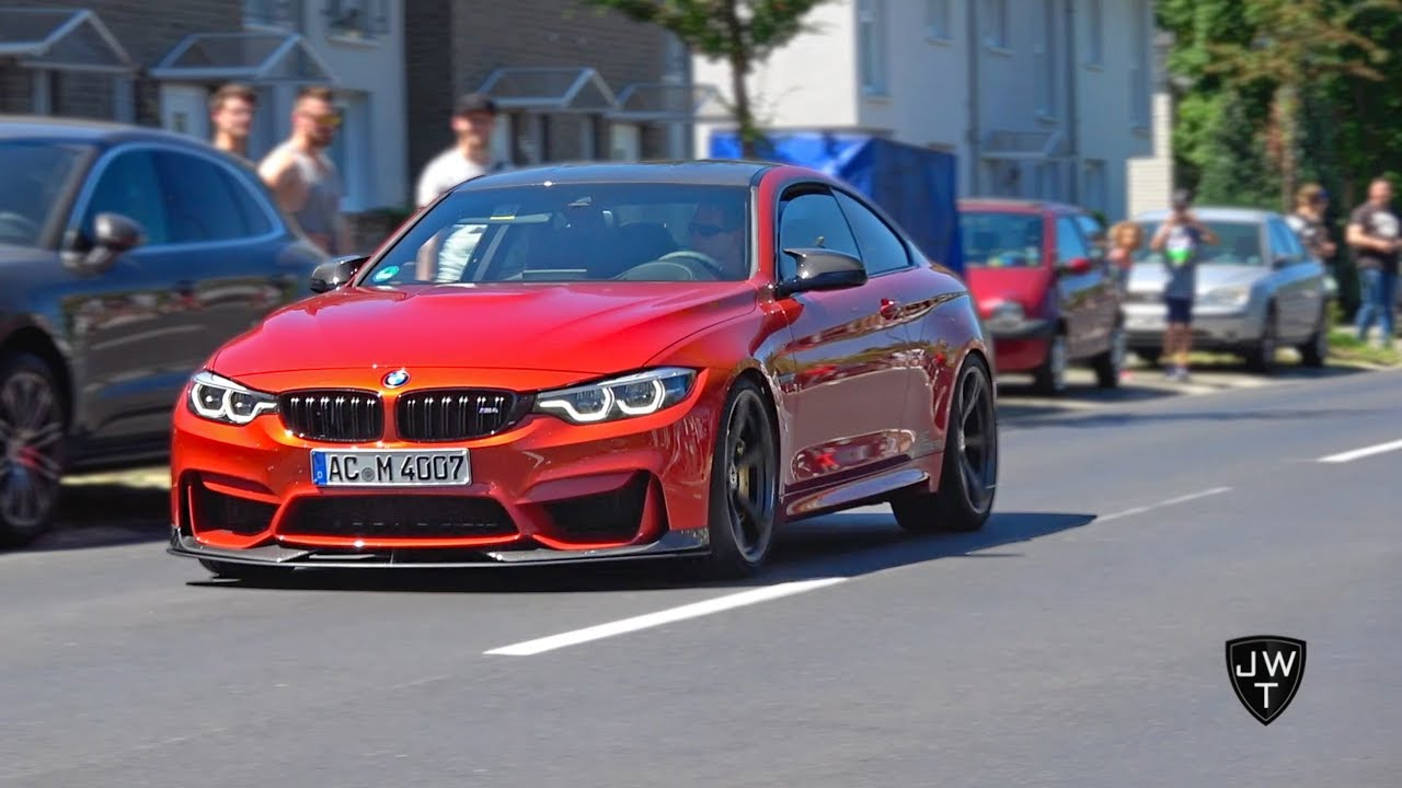 Modified Bmw M4 F82 Coupe Loud Sounds Revs Accelerations More