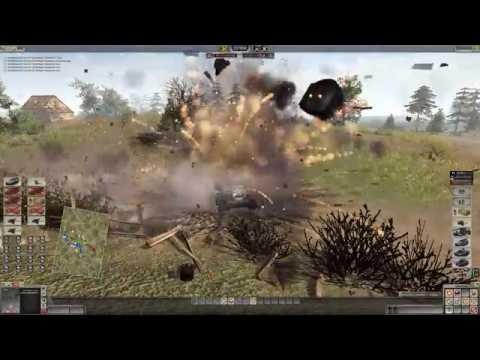 Men of War 2 Robz Waffen Battle VS Western Allies