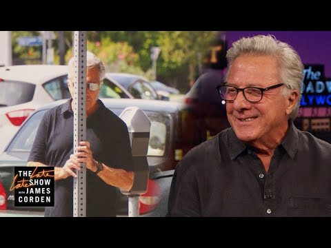 Dustin Hoffman Is Amazing at Hiding from Paparazzi