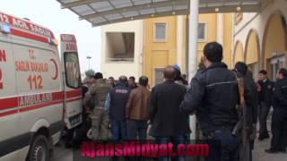 Zırhlı araç mayına çapması sonucu çok sayıda asker yaralandı