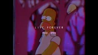 "(Free) Lil Peep Type Beat ""Live forever""   Melancholic beat   (Prod. Apes)"