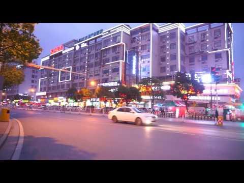 ທາງໄປວິທະຍາເຂດໃໝ່ New Campus of Central South University, Changsha City, Hunan Province, China.