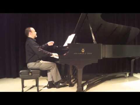 Friedrich Burgmuller, Gondolier's Song