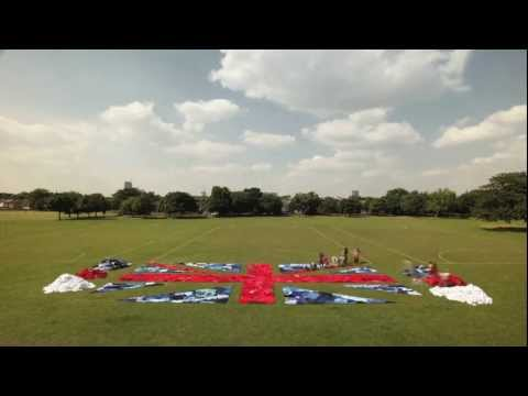 Marks & Spencer Create World's Largest Union Jack Flag from Unwanted Clothes