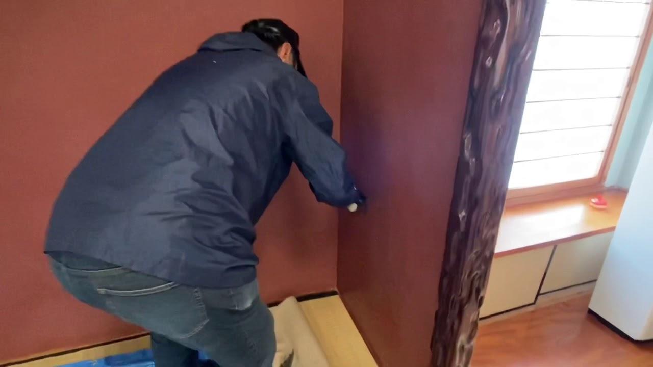 じゅらく壁塗替え