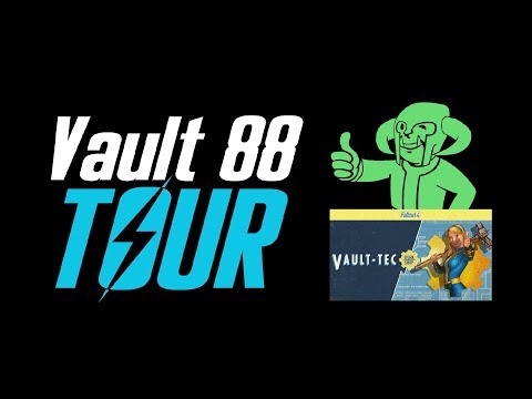 Tour of Gopher's Vault 88 | FALLOUT 4