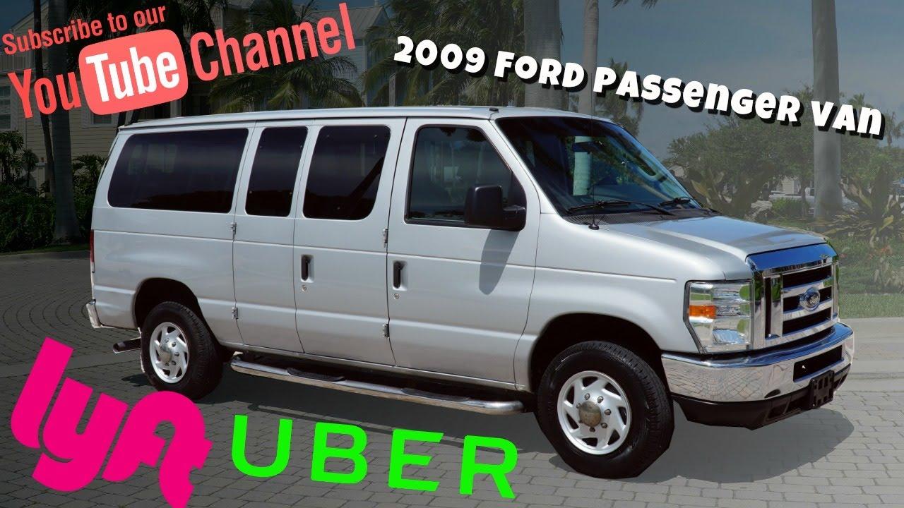2009 Ford E350 11 Penger Van For Loaded Up
