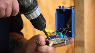 Converting a Light Switch to a Switch/Outlet Combo : DIY Electrical Work
