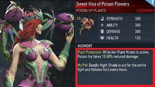 Injustice 2 - Poison ivy Legendary Gear Showcase