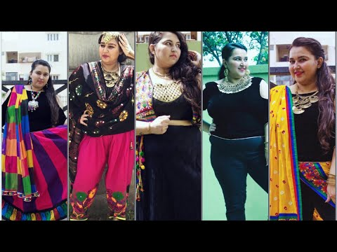Navratri Outfit Ideas Indo Western Lookbook Plus Size Fashion