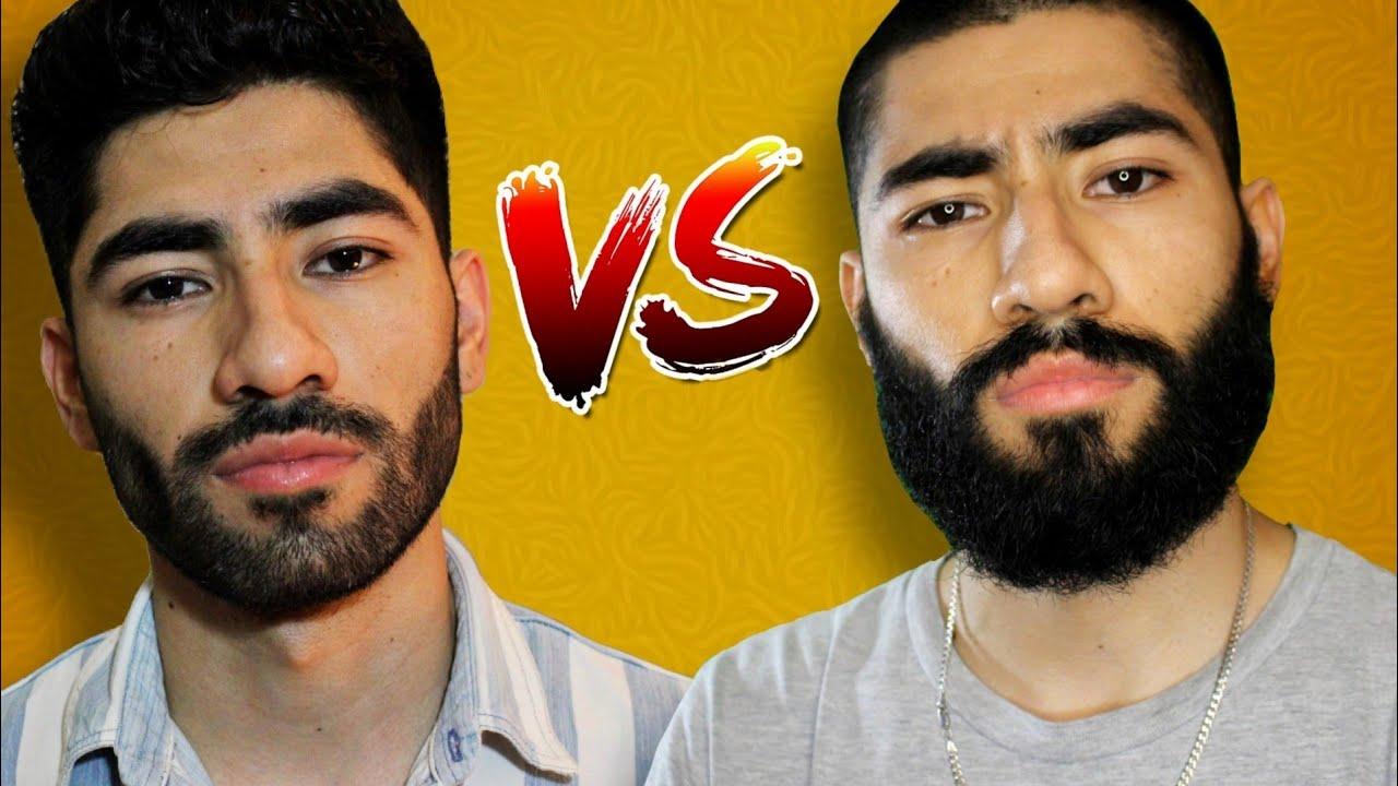 Barba Corta vs Barba Larga