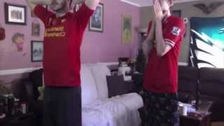 Goal Reactions : Liverpool v Manchester City 13.4.2014