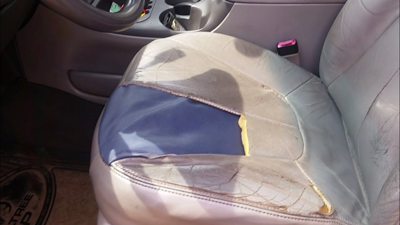 small resolution of new seat bottom 2000 expedition yes you can change your ugly seat covers