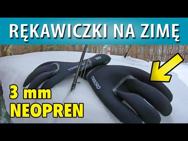 TROĆ ➤ Rękawiczki na zimę  NEOPREN 3 mm (nieprzemakalne)...