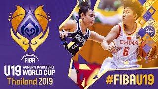 China v Argentina - Full Game - FIBA U19 Women's Basketball World Cup 2019